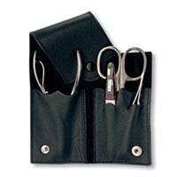 Маникюрный набор Yes 4 инструмента (коричневый)