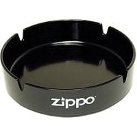 Пепельница ZIPPO, долговечный пластик, чёрная с фирменным логотипом